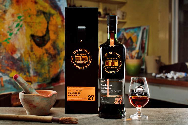 SMWS 24.129 - Meeting an old master