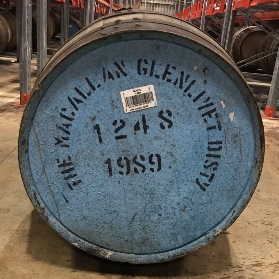 Macallan 1989 - Refill Sherry Hogshead Cask 1248
