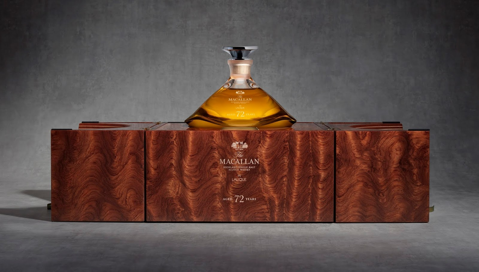 The Macallan 72 Year Old in Lalique - The Genesis Decanter
