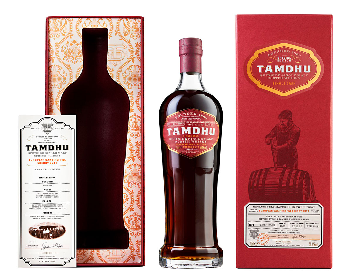 Tamdhu 120 Anniversary Single Cask Distillery Team Edition
