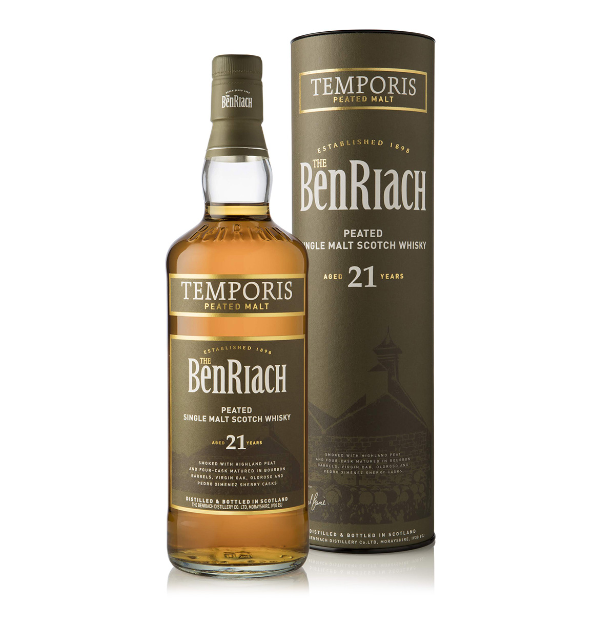 BenRiach Temporis 21 Year Old Peated