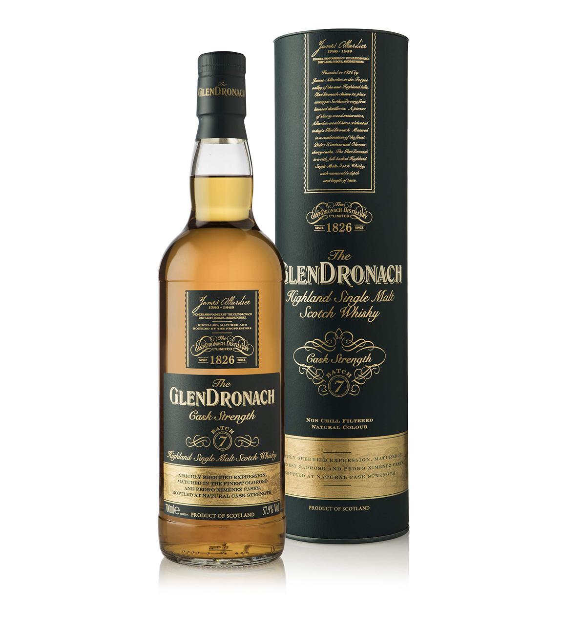 The GlenDronach Cask Strength Batch №7