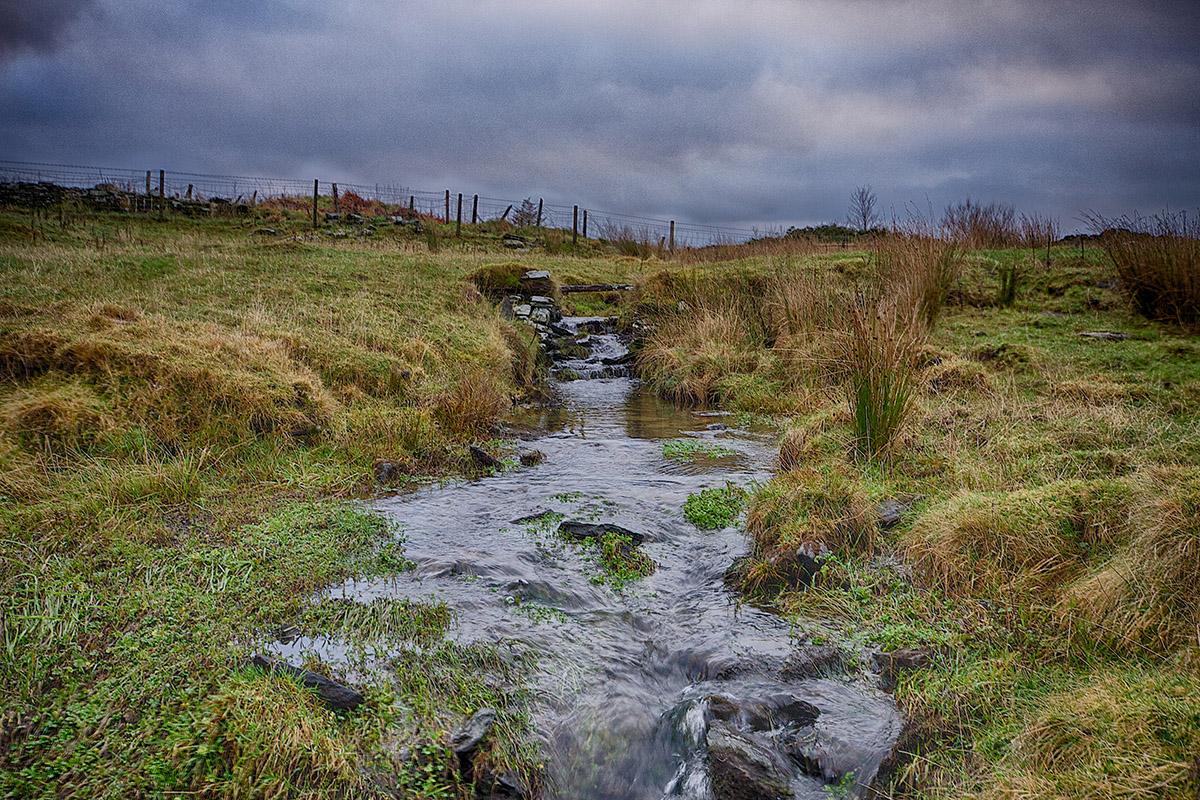 Волчий Ручей - источник воды для винокурни Wolfburn