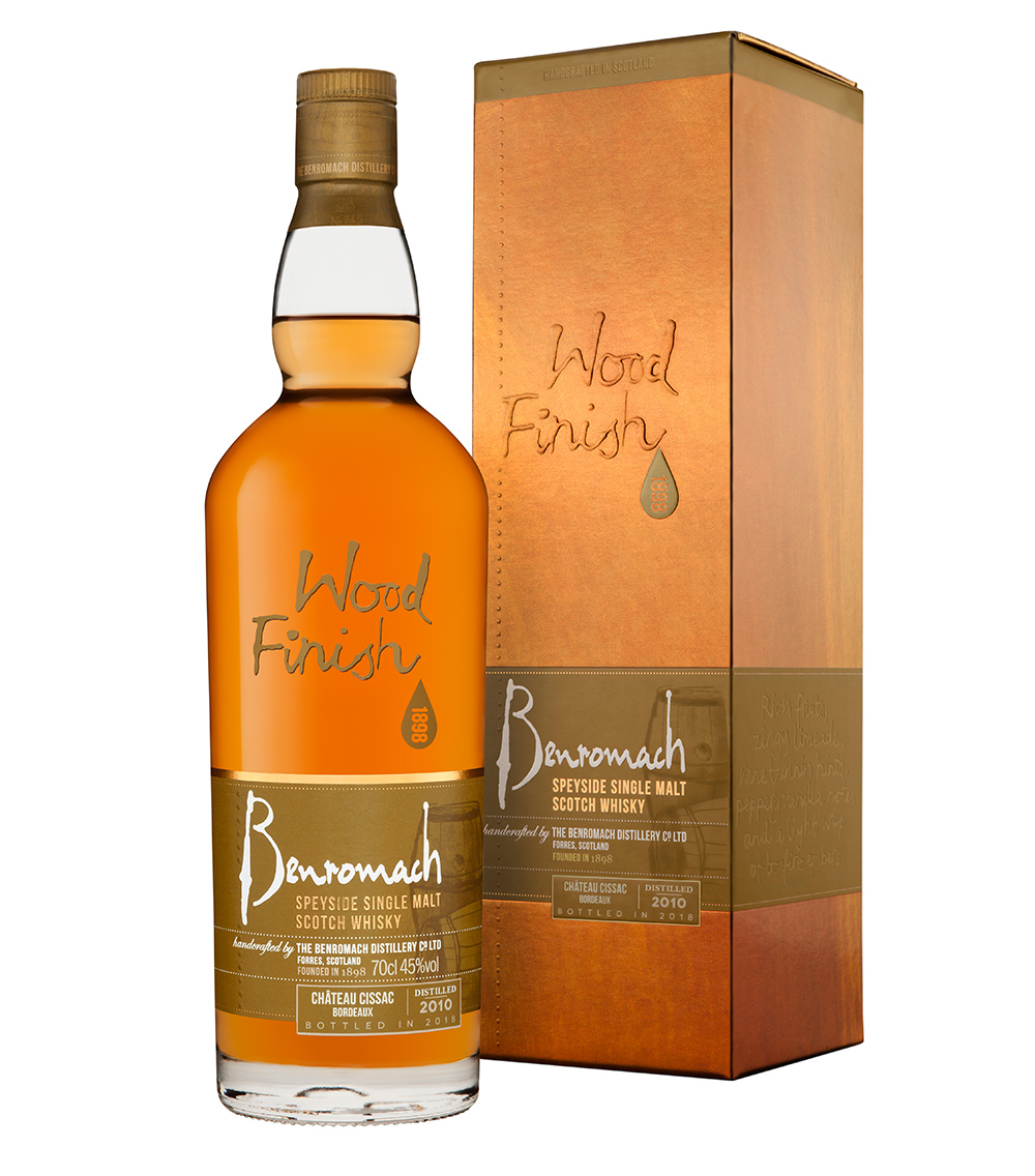 Benromach Chateau Cissac Bordeaux Wood Finish 2010