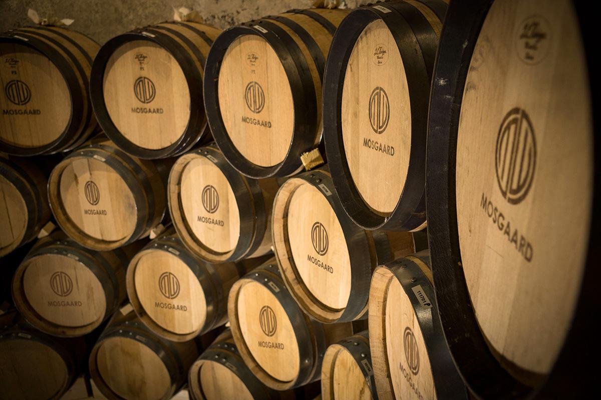 Выдержка в Mosgaard Distillery