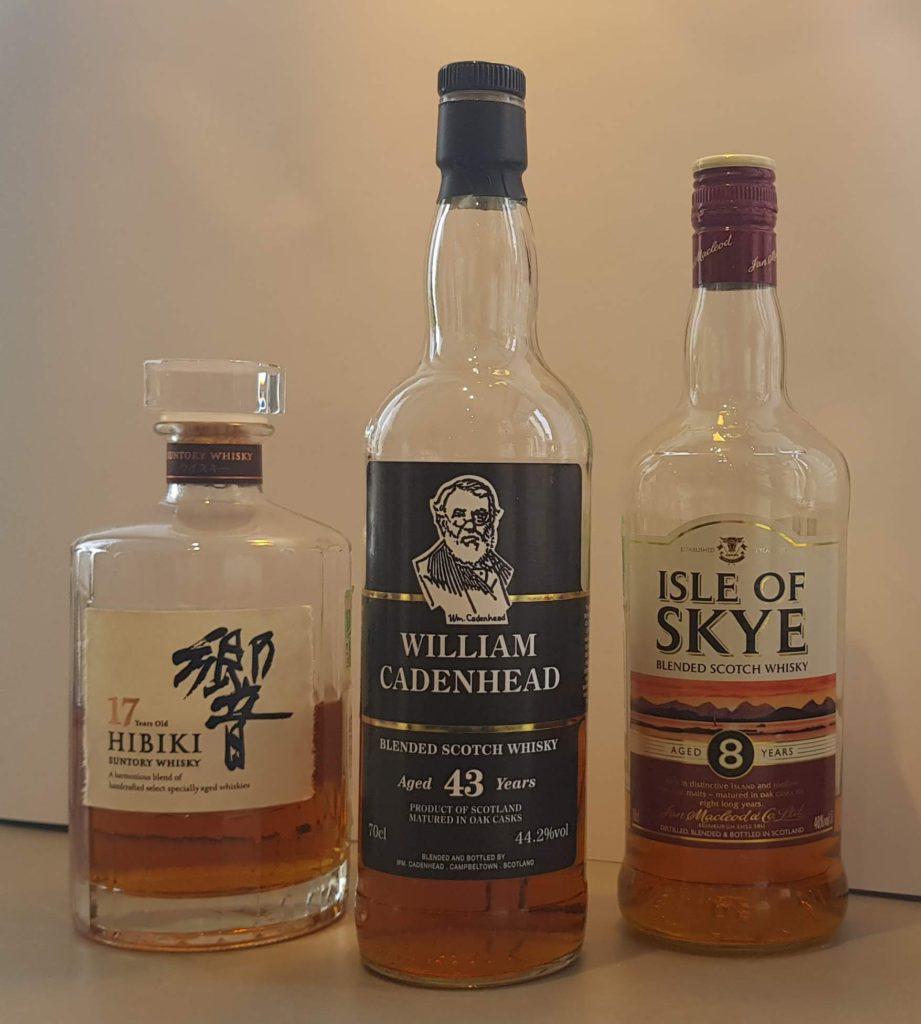 упажированный виски бывает очень разный, с содержанием солодовых спиртов до 80%, или с заметным торфяным характером, или из спиртов, выдержанных не менее нескольких десятков лет - это только лишь несколько примеров из моего бара.