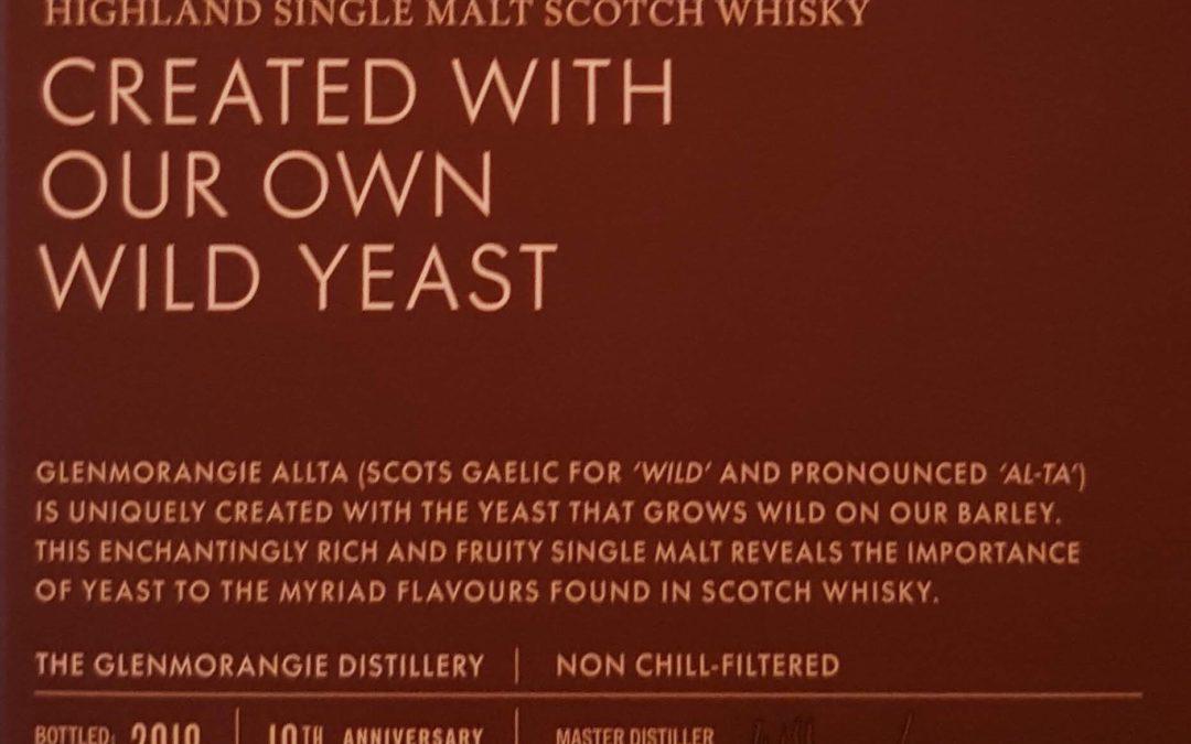 Дрожжи и виски