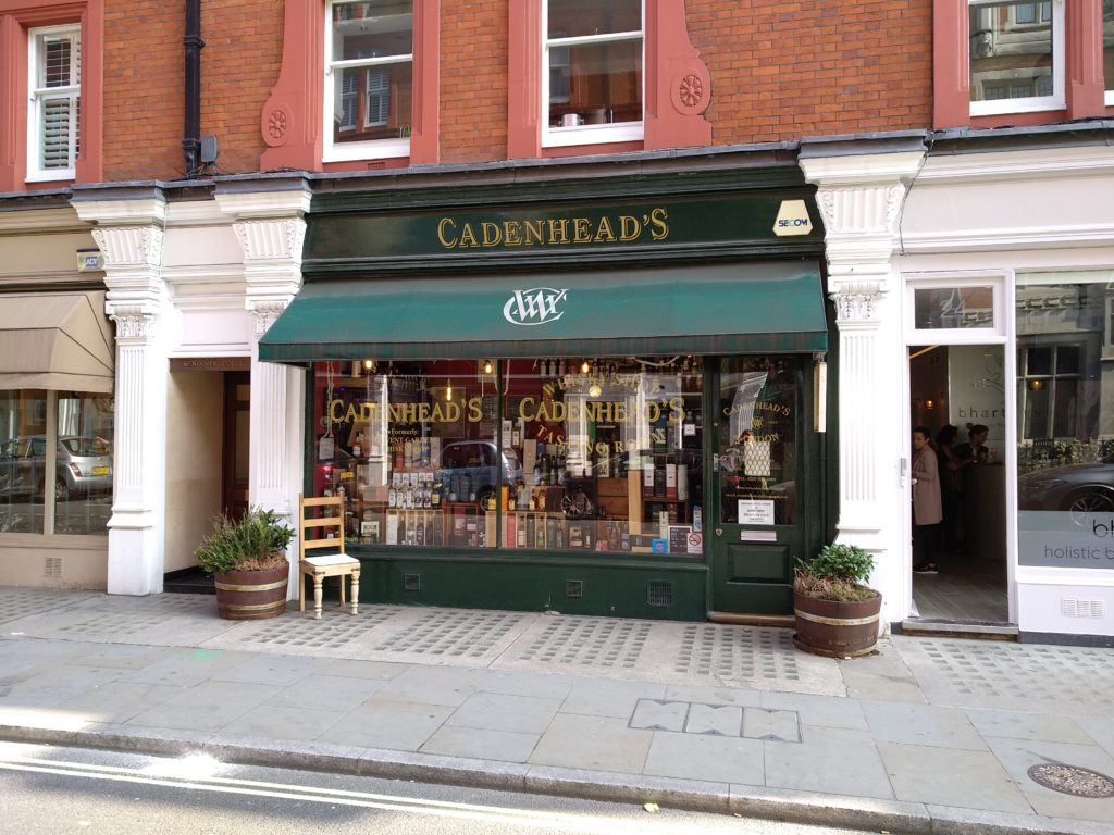 Cadenhead's London Shop